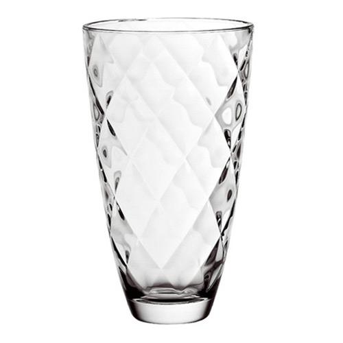 Ваза CONCERTO, 30 смВаза имеет необычную текстуру стекла и необычную форму. Она придаст вашим цветам или элементам декора неповторимой элегантности, более того ваза может легко использоваться самостоятельно в качестве декоративного украшения и может легко вписаться в любой интерьер.<br>
