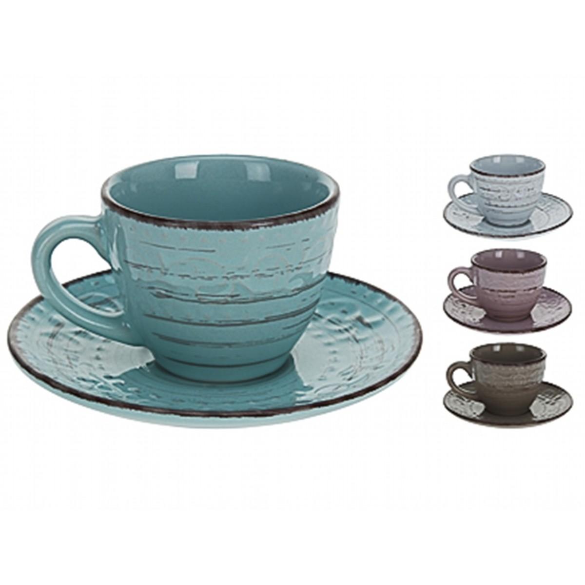 Кружка для эспрессо с блюдцемExcellent Houseware производит посуду и различные предметы для дома. Кружка с блюдцем - прекрасный подарок для кофеманов. Они создают уютную атмосферу спокойствия и гармонии, и, конечно, украшают стол. Внимание! Выбрать цвет заранее не представляется возможным.<br>