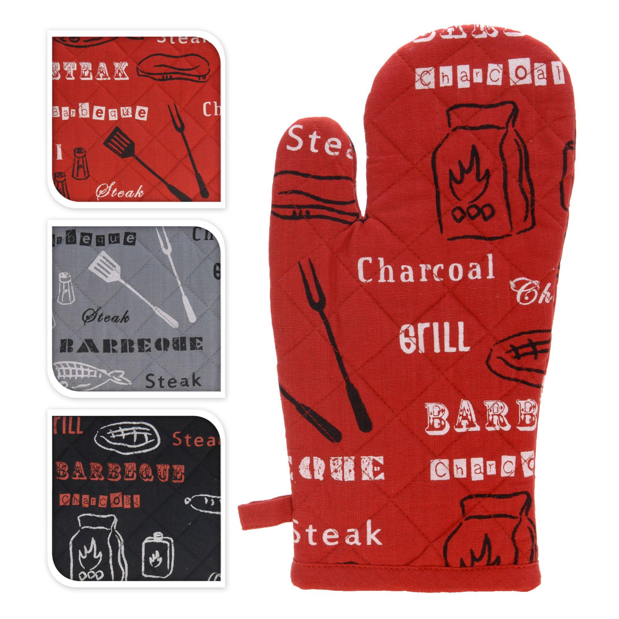 Варежка-прихватка Koopman 31*17*20 в ассортиментеВарежка-прихватка Koopman известного бренда Экселлент Хаусвеар – это удобный кухонный аксессуар, который обеспечивает надежную защиту рук от воздействия высоких температур во время приготовления пищи.Безопасность во всемПрихватка выполнена из натурального хлопка, украшенного надписями и оригинальными рисунками, и укреплена теплоизоляционной прослойкой, что позволяет спокойно брать руками горячую посуду. Модель оснащена петелькой для подвешивания на крючок. Изделие отлично выдерживает постоянную эксплуатацию и легко стирается. Прихватка – отличный вариант подарка для практичной хозяйки. Купить варежку-прихватку Купман марки Экселлент Хаусвеар вы можете на сайте компании Cookhouse. Возможна доставка товара курьерской службой.<br>