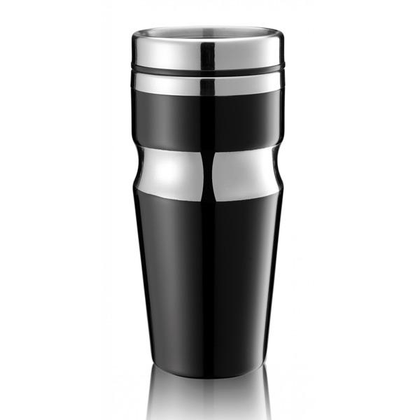 Термокружка CONTOUR черныйИзделия от бренда LeFutur изготовлены из высококачественных материалов, что позволяет использовать их долгие годы. Интересные цветовые решение привнесут свою неповторимую изюминку каждой кухне<br>