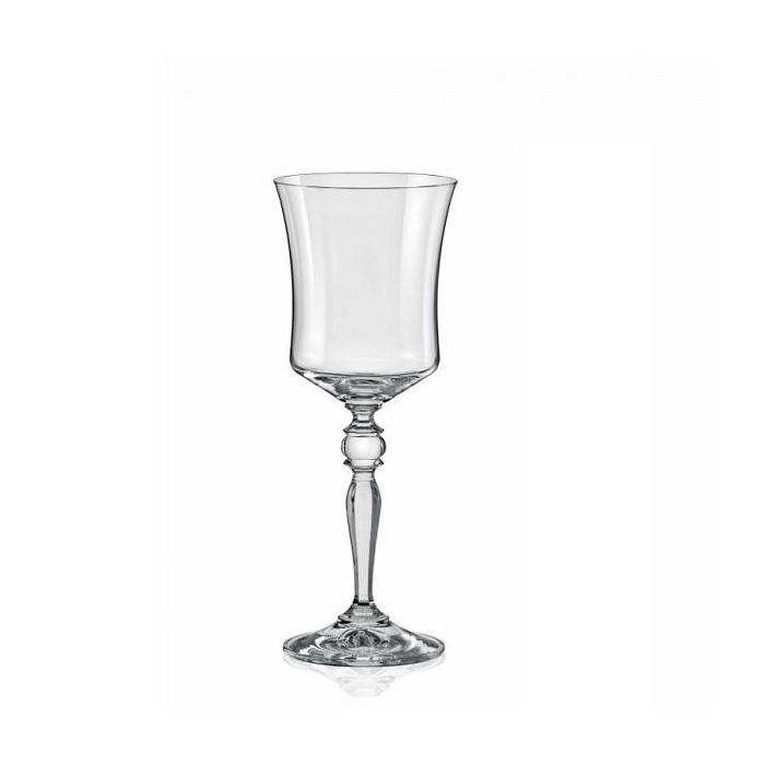 Набор бокалов д/вина 6 шт ГРЭЙС 250 млНабор бокалов для вина ГРЭЙС чешской компании Кристалекс, имеющей богатые традиции в изготовлении стекла высокого качества, станет настоящим украшением праздничного стола. Идеально выверенные гармоничные грани и изгибы этих бокалов, выполненных из особо прозрачного стекла, наполнят изысканным звоном каждый знаменательный день в вашем доме. Купите набор бокалов для вина ГРЭЙС из традиционного чешского стекла, и он станет тем элементом коллекции посуды, который передается из поколения в поколение и становится фамильной ценностью.<br>