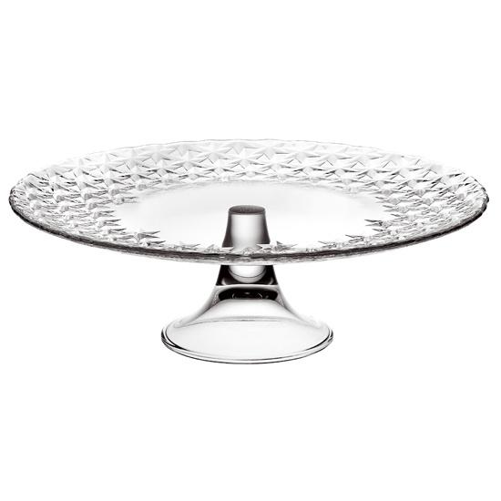 Тарелка на ножке GALASSIA d 28 смИтальянская мануфактура Vidivi является производителем с мировым именем по производству стеклянных изделий и высококачественной посуды. Внимание к каждой детали и инновации, в сочетании с непревзойдённым итальянским дизайном делают этот бренд уникальным. Тарелки из коллекции GLASSIA хорошо подойдут как для спокойного семейного ужина, так и для ресторанной сервировки. Изысканное оформление тарелок, блеск стекла и удобная форма станут лучшими украшениями Вашего стола. В коллекции доступны тарелки меньшего диаметра. Поэтому теперь Вы можете подбирать необходимый размер под разные виды блюд.<br>