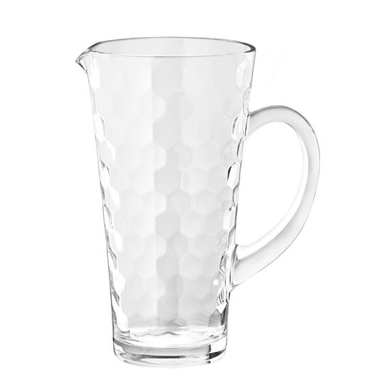 Кувшин 1,2 л. HONEYИтальянская компания EGO стала известным производителем товаров для кухонь. Качественное стекло в дополнении с неповторимым дизайном сделали продукцию компании уникальной и оригинальной. Изделия EGO послужат отличным подарком на новоселье или именины.<br>