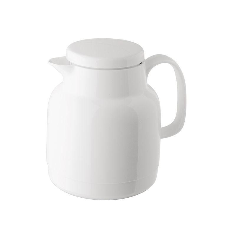 Термос-чайник Mondo+Sieve с ситечком белый