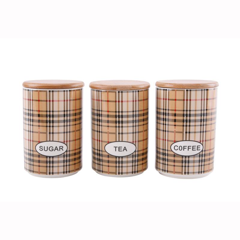 Набор банок для хранения с крышками 3 шт. 730 мл коричневыйSmakfest - это надежный немецкий производитель посуды для кухонь. Бренд стал знаменит благодаря качеству используемых материалов, таких как натуральное дерево, костяной фарфор, керамика и прочее. Также им присуще неповторимы дизайн для каждого изделия, который придаст каждой кухне свою изюминку.<br>