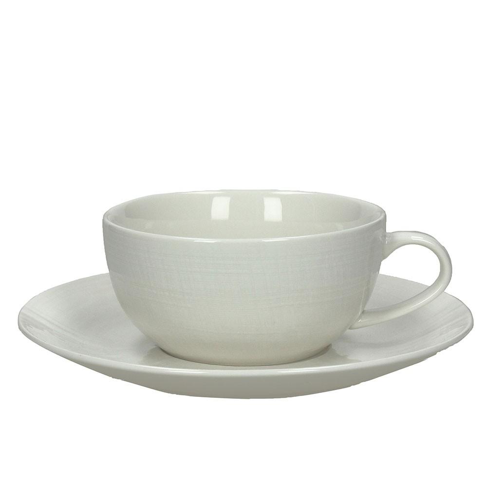 Набор чашек с блюдцами для завтрака VICTORIATognana производит красивую и качественную посуду и аксессуары для дома и дачи, создает каждый предмет продуманно и с особой любовью. Данный набор чашек с блюдцами стильный, эргономичный, прекрасно выполняет свою функцию и украшает стол.<br>
