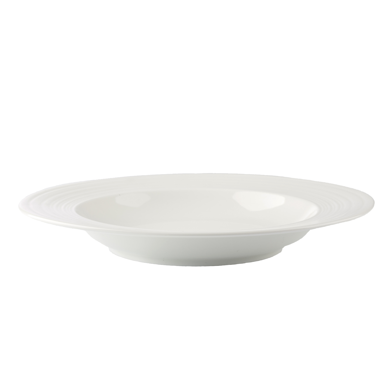 Тарелка суповая SOLA 23 смТарелка Сола станет незаменимым предметом для качественной сервировки стола. Представленная модель изготавливается из прочного стекла, устойчивого к повреждениям. Размер тарелки оптимален для самых разнообразных блюд. Благодаря прочной поверхности изделие надолго сохранит первозданный вид, исключая появление потертостей, царапин и сколов. Лаконичный оригинальный дизайн тарелки станет отличным дополнением к интерьеру кухни, а также позволит вам красиво и стильно сервировать обеденный стол.<br>