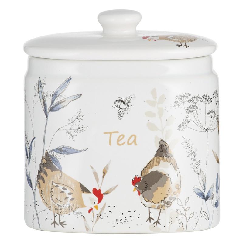 Емкость для хранения чая Country Hens