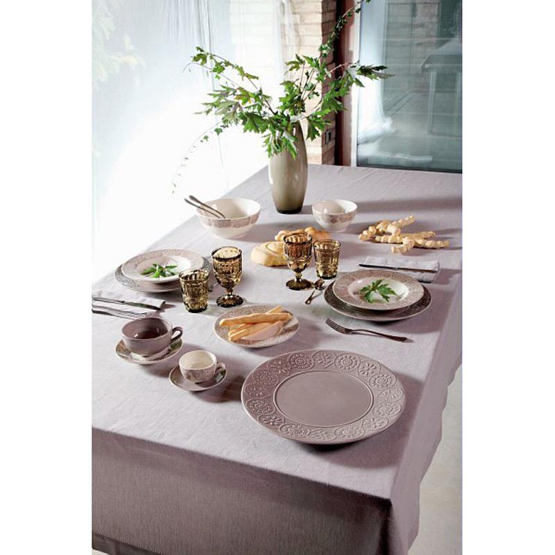 Тарелка десертная COIMBRA 20 см бежеваяИтальянский бренд Tognana - это известный производитель посуды по всему миру. Посуда изготовлена из высококачественного материала, а благодаря неповторимому дизайну она всегда будет выглядеть стильно на праздничном или обеденном столе. Отсутствие разнообразной отделки дает возможность мыть их в посудомоечных машинах и использовать в СВЧ печи, при это у посуды всегда будет вид как в момент покупки.<br>