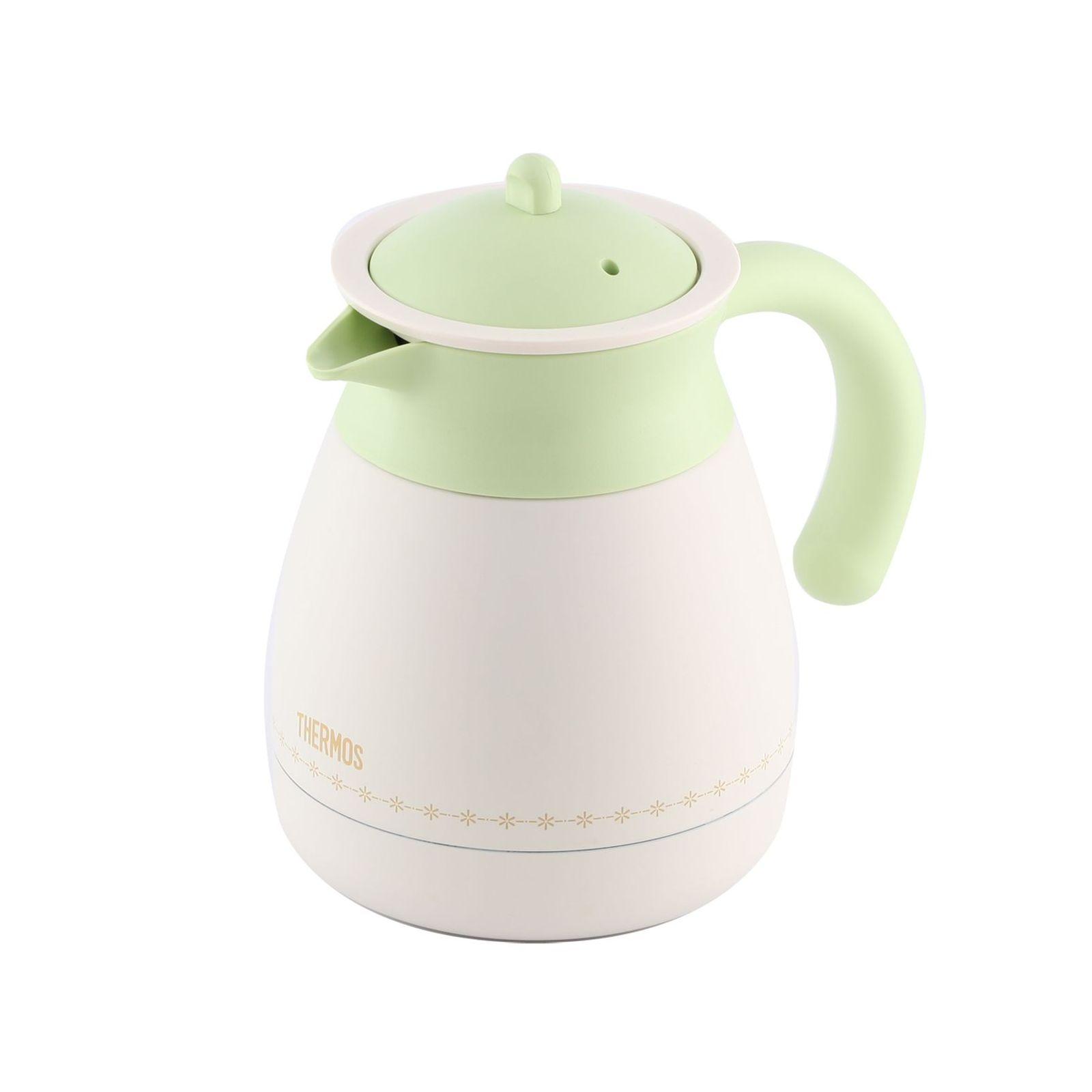 Термос со стальной колбойТермос из нерж. стали тм THERMOS TGR-601(HBG) Tea Pot 0.6L<br>