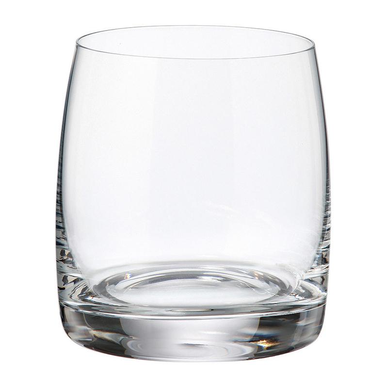 Набор стаканов для виски 6 шт 290 мл Bohemia Crystal Pavo/Ideal