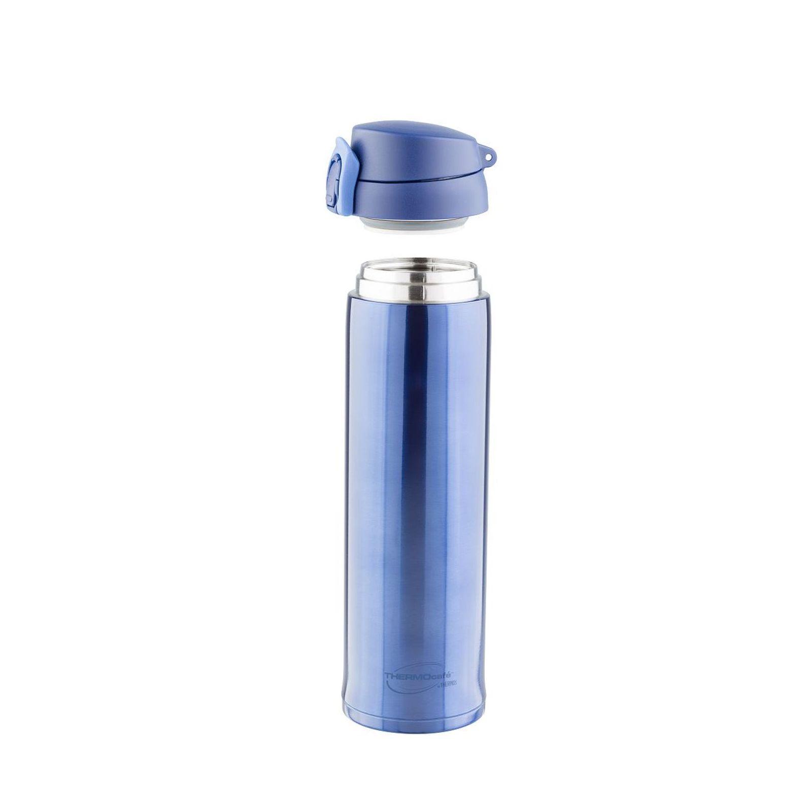 Термос со стальной колбойТермос из нерж. стали тм ThermoCafe XTC-60 (Blue) 0.6L<br>