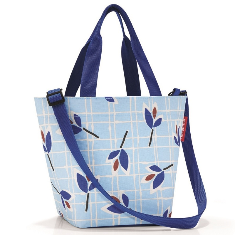 Сумка Reisenthel Shopper leaves blue