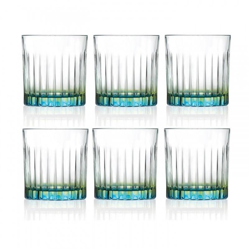 Набор из 6 стаканов для виски RCR Gipsy 360 мл