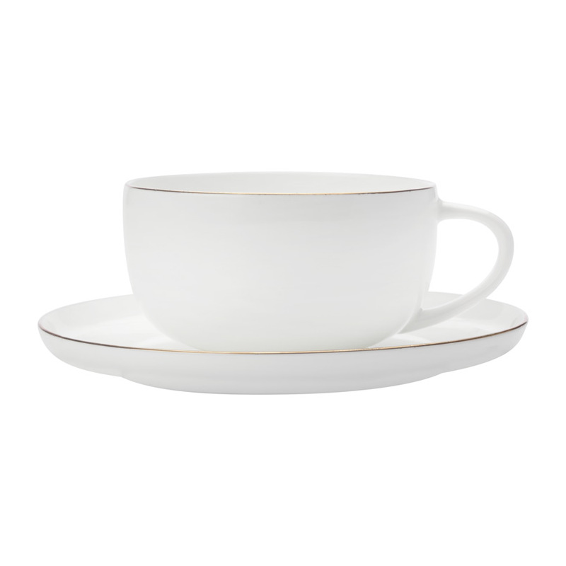 Чашка кофейная с блюдцем 100 мл Maxwell & Williams Кашемир Голд