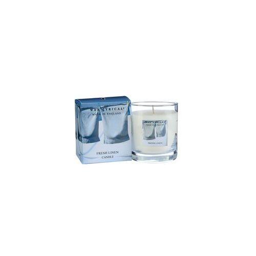 Свеча ароматическая Лен стекло/картон 7х8х7 белыйСвеча ароматическая Лен стекло/картон от английской компании Wax Lyrical.  Уникальное средство для устранения неприятного запаха. Благодаря технологии Odouraze , которая находит молекулы неприятного запаха, окутывает их и полностью уничтожает. Придаст воздуху свежий аромат промытого льна.<br>