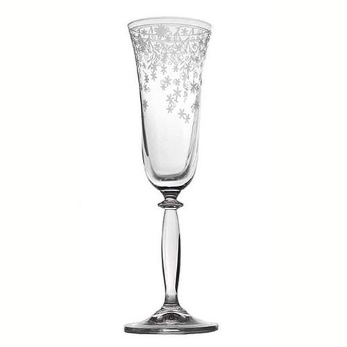 Бокал для шампанского ЛаураОригинальный бокал итальянского  производителя сделан из высококачественного стекла. Необычный дизайн и форма украсят любой интерьер. Он станет отлично впишется в уже имеющуюся коллекцию вашей посуды или станет хорошим подарком для ваших друзей и близких.<br>