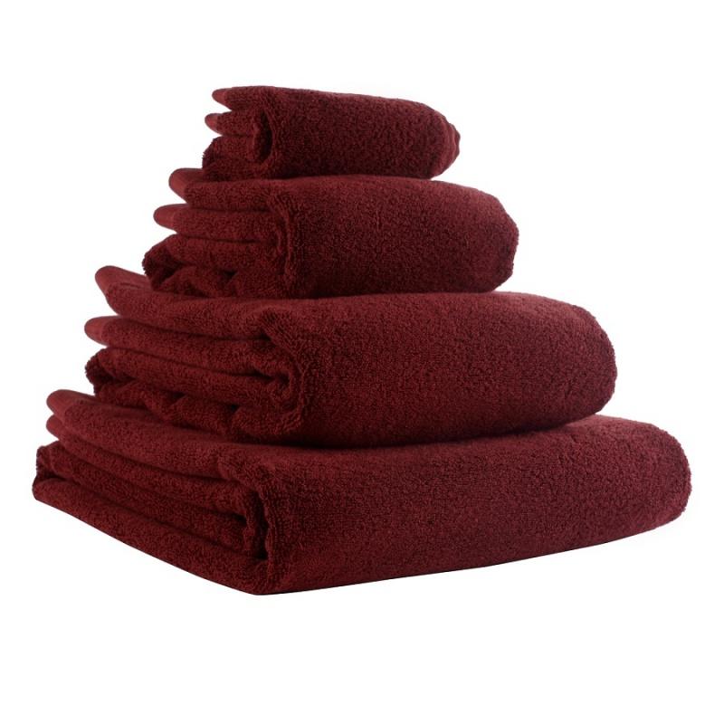 Полотенце для рук Tkano Essential 50х90 см бордовое