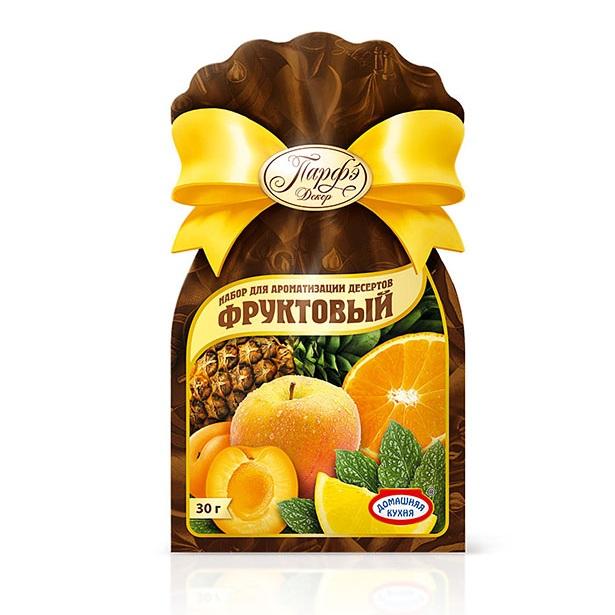 Сахаркристаллический ароматизированный (Набордля ароматизации десертов)Продукция от Парфэ - превосходные приправы, смеси и пищевые добавки, которые подарят вашим блюдам незабываемый вкус и аромат! Сахар ароматизированный фруктовый непременно пригодится вам для ваших кулинарных экспериментов.<br>