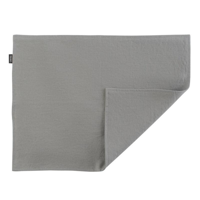 Салфетка двухсторонняя под приборы из умягченного льна Essential 35х45 см