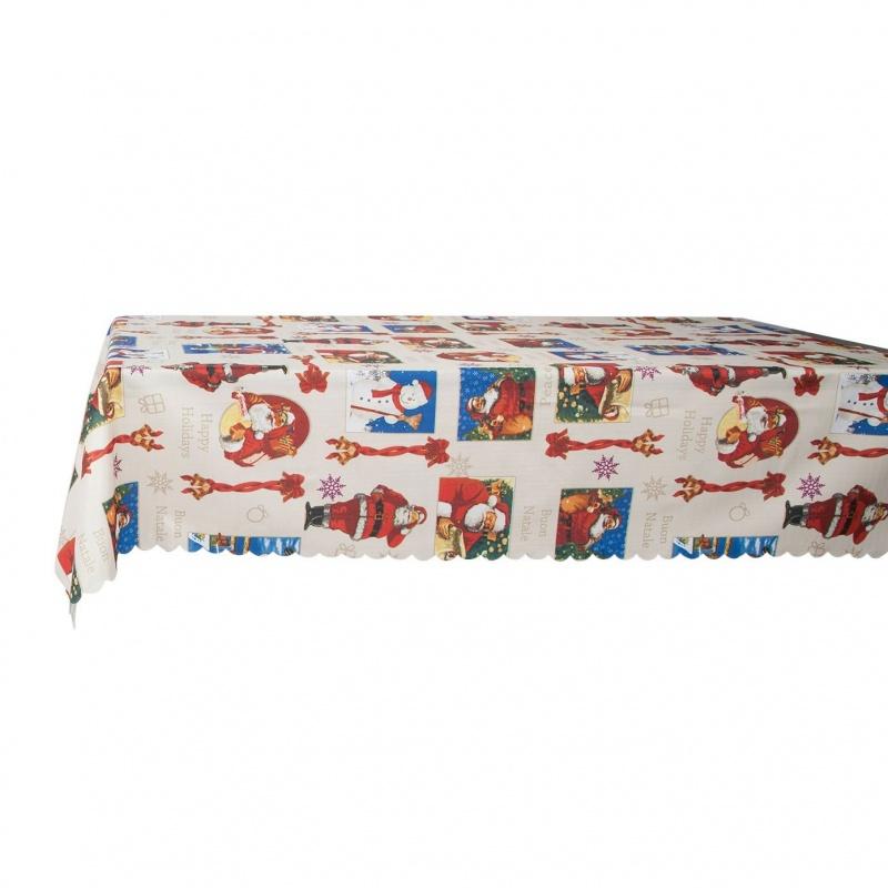 Скатерть Новогодняя на стол Хэппи-12 140 х 180 см Grand Textil