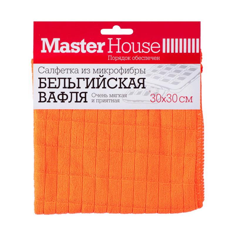 """Салфетка для уборки """"Бельгийская вафля"""" Master House"""