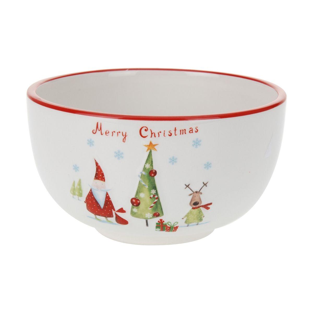 Миска 450 мл. Merry christmasмиска 12.5x7см Merry christmas 450 мл<br>