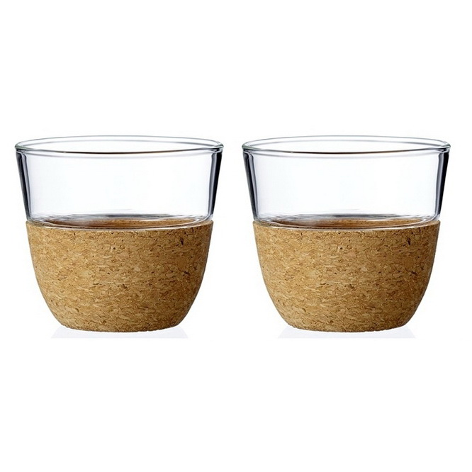 Набор стаканов чайных 2шт 0,2л Cortica