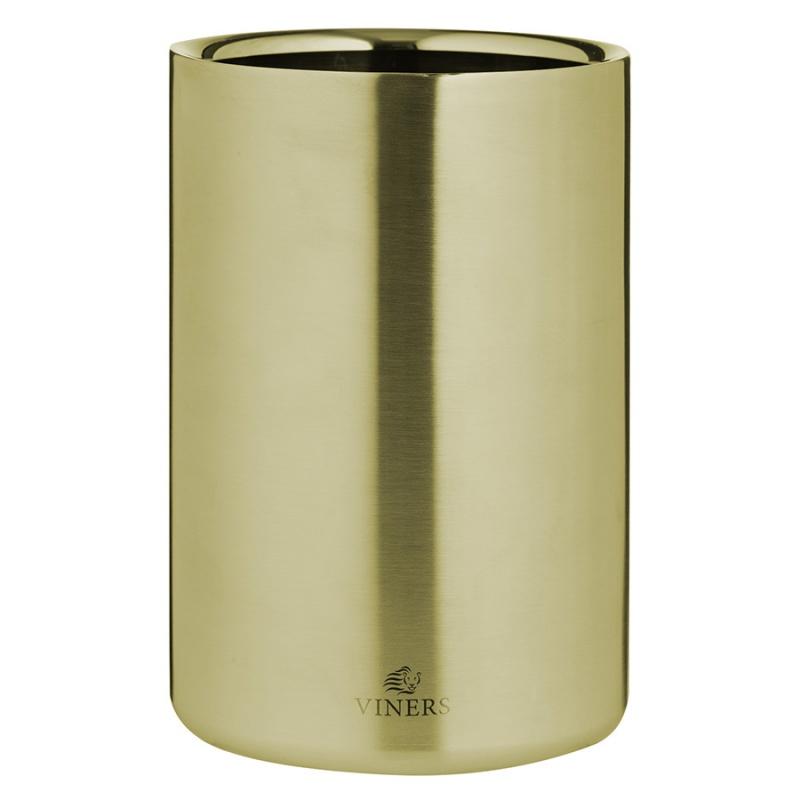 Ведерко для охлаждения вина Viners Barware 1,3 л золото