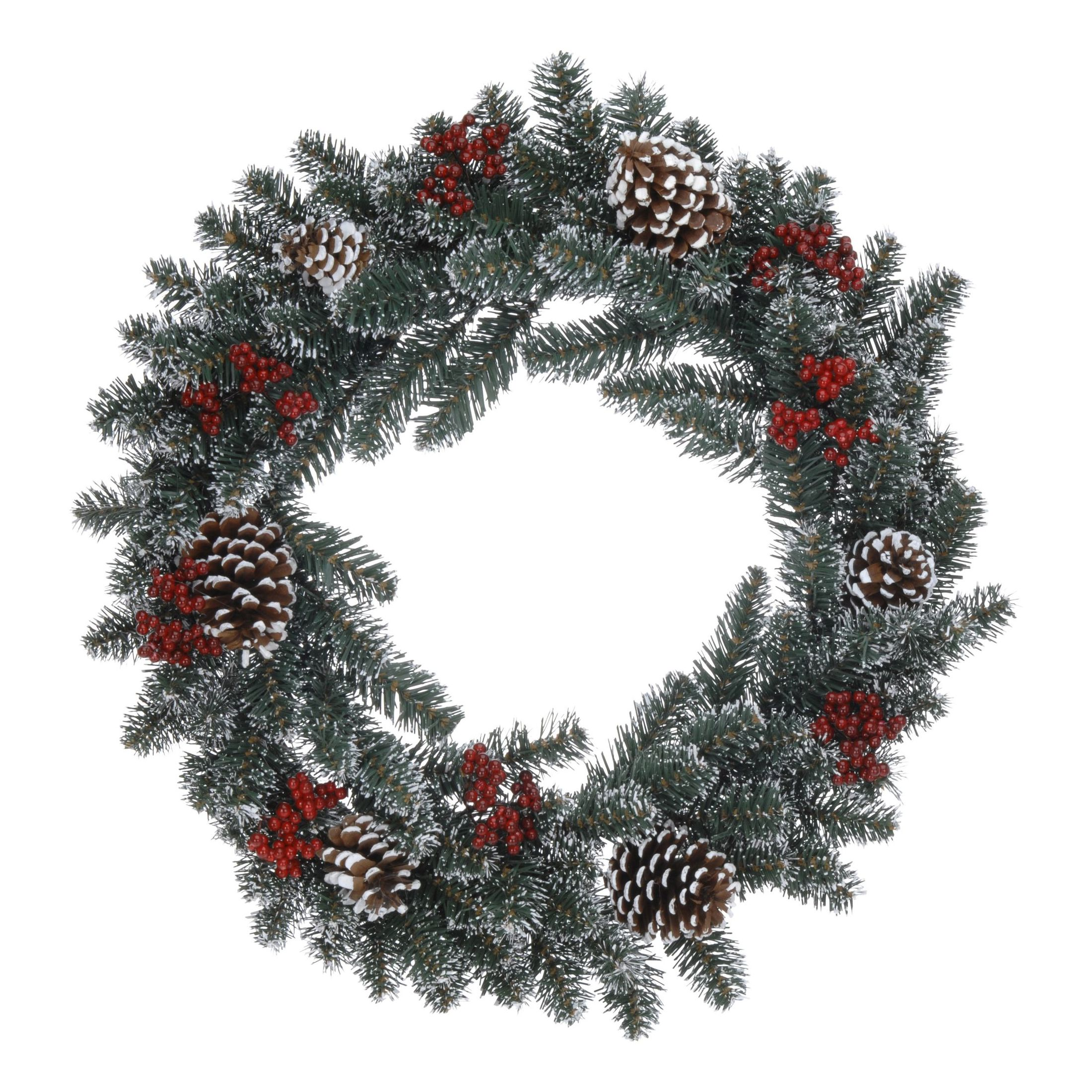 Декор Венок рождественский d60 см<br>