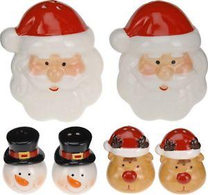 Купить со скидкой Набор соль/перец Рождество
