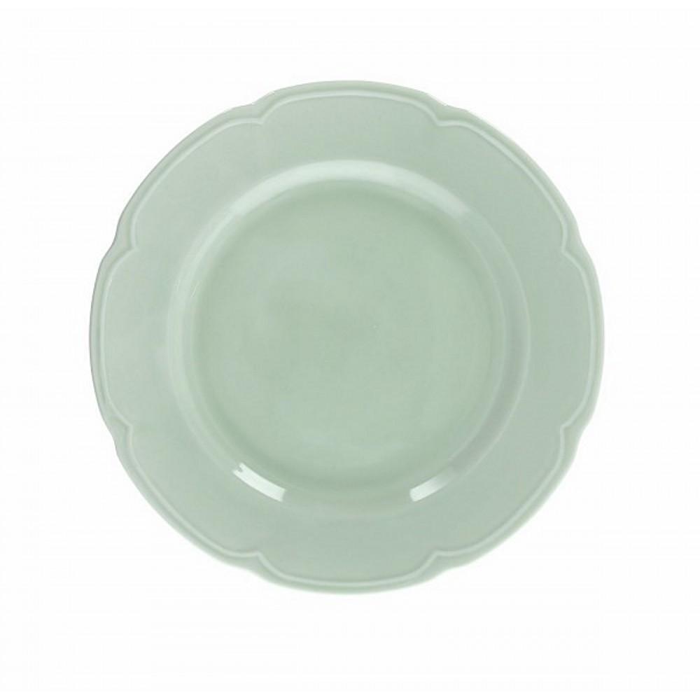 Тарелка обеденная FAVOLA VERDE SAТарелка обеденная фирмы Tognana сделана из высококачественного фарфора. Имея оригинальный дизайн, тарелка отлично подойдет для украшения и сервировки ваших блюд. Этот элемент посуды является неотъемлемым на любой кухне.<br>