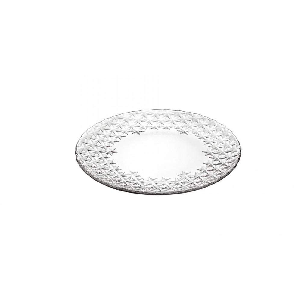Тарелка GALASS IAТарелка десертная фирмы Vidivi сделана из стекла высокого качества. Она отлично подойдет для сервировки вашего праздничного стола, а также подчеркнет изысканный вкус каждой хозяйки. Ваши блюда приобретут невероятный вкус.<br>