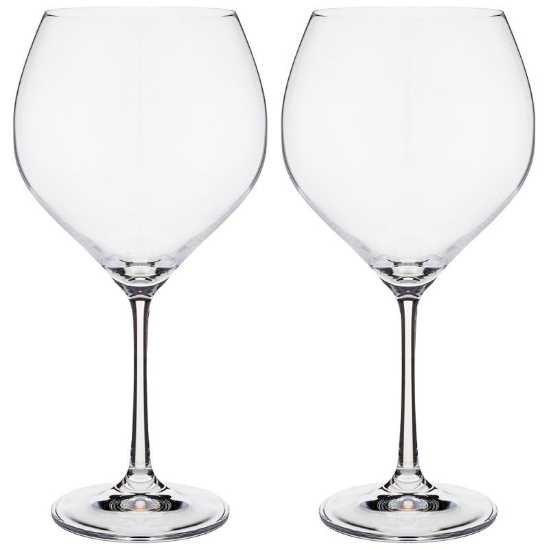 Набор бокалов для вина 2 шт 650 мл Bohemia Crystal Sophia