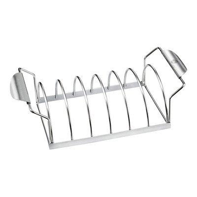 Решетка для приготовления ребрышекКомпания GEFU производит продукты современного дизайна. Качественная решетка нужна всем, кто любит хрустящие ребрышки, потому что с ее помощью ваше блюдо получится просто совершенным!<br>