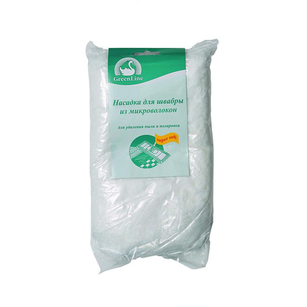 НАСАДКА ДЛЯ ШВАБРЫ ИЗ МИКРОВОЛОКОНКомпания Inter-Vion появилась на рынке в 1991 году. Сейчас она является одним из крупнейших предприятий по изготовлению косметической продукции и товаров для дома. Насадка для швабры из микроволокон GREEN LINE легко удаляет загрязнения на полу. Быстро впитывает влагу. Это очень полезная вещь в доме. Хорошо подходит для сухой и влажной уборки. После использования ее достаточно промыть водой и высушить.<br>