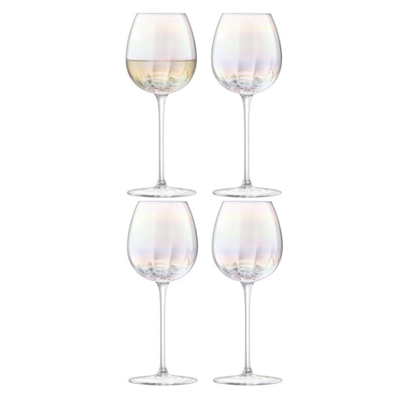 """Набор бокалов для белого вина 4 шт. 325 мл LSA International """",Pearl"""","""
