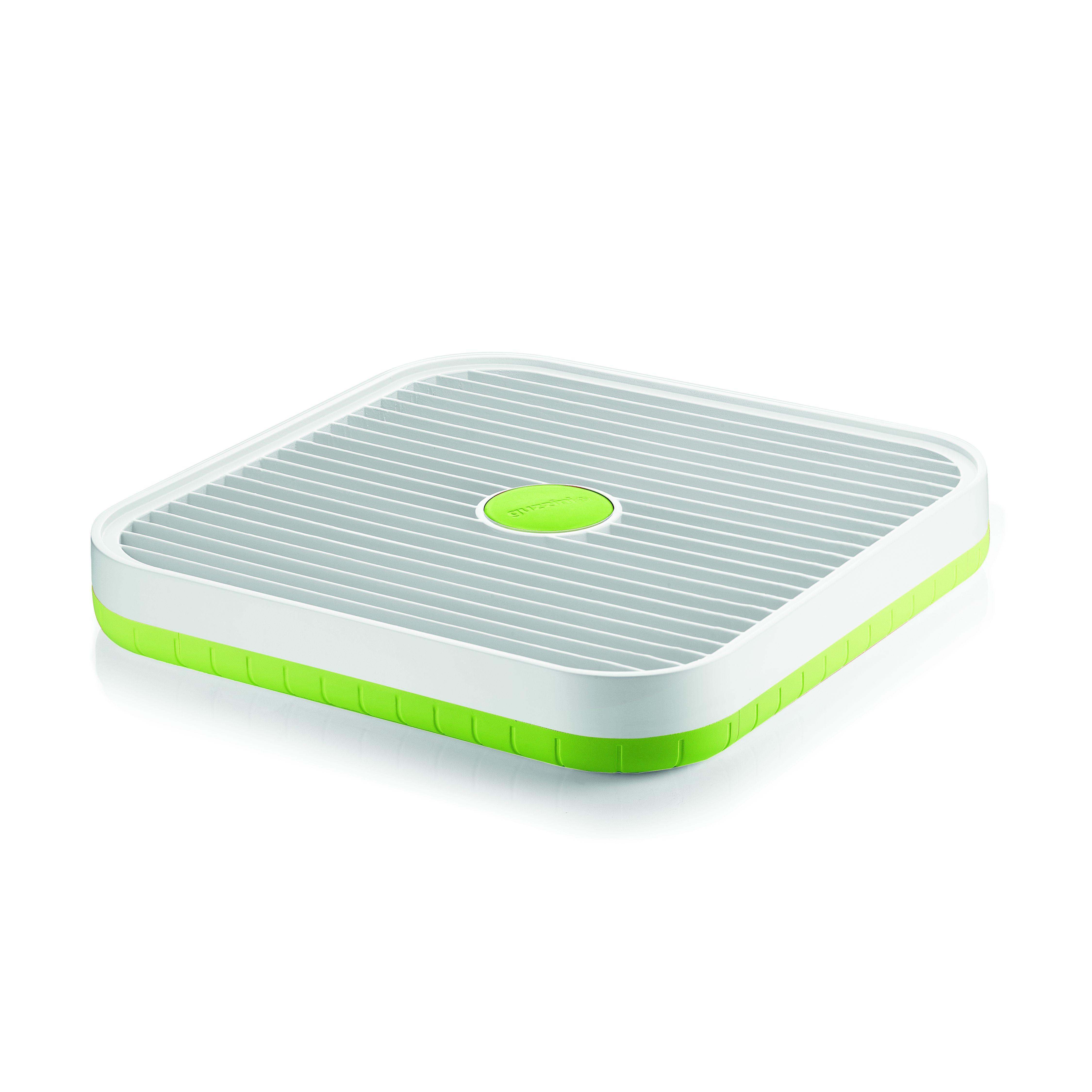 Подставка для сушки посуды MY KITCHEN зеленаяС подставкой для сушки посуды Май китчен вам больше не надо переживать о мокрых тарелках, столовых приборах и других предметах кухонной утвари. Изделие выполнено из безопасного и прочного пластика и прослужит вам не один год. Оно легко очищается от загрязнений и неприхотливо в уходе. Подставка для сушки Май китчен не займет много места и органично впишется в любой современный интерьер.<br>