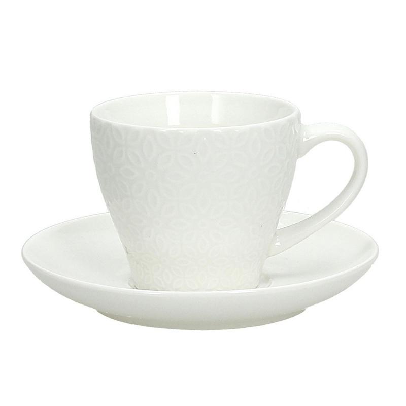 Набор пар чайных 6 шт 210 мл Olimpia Margaret Tognana