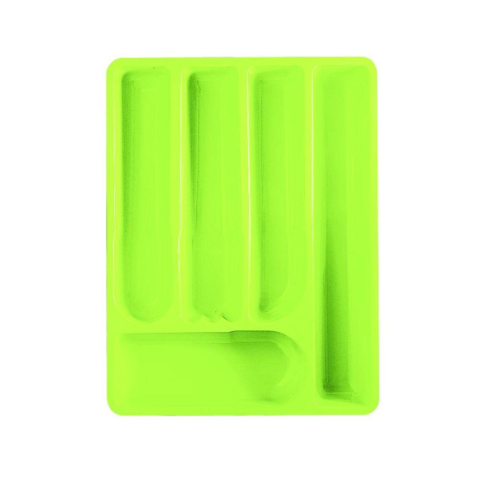 Лоток для столовых приборов MY KITCHEN 40*30*5 5 зеленый<br>