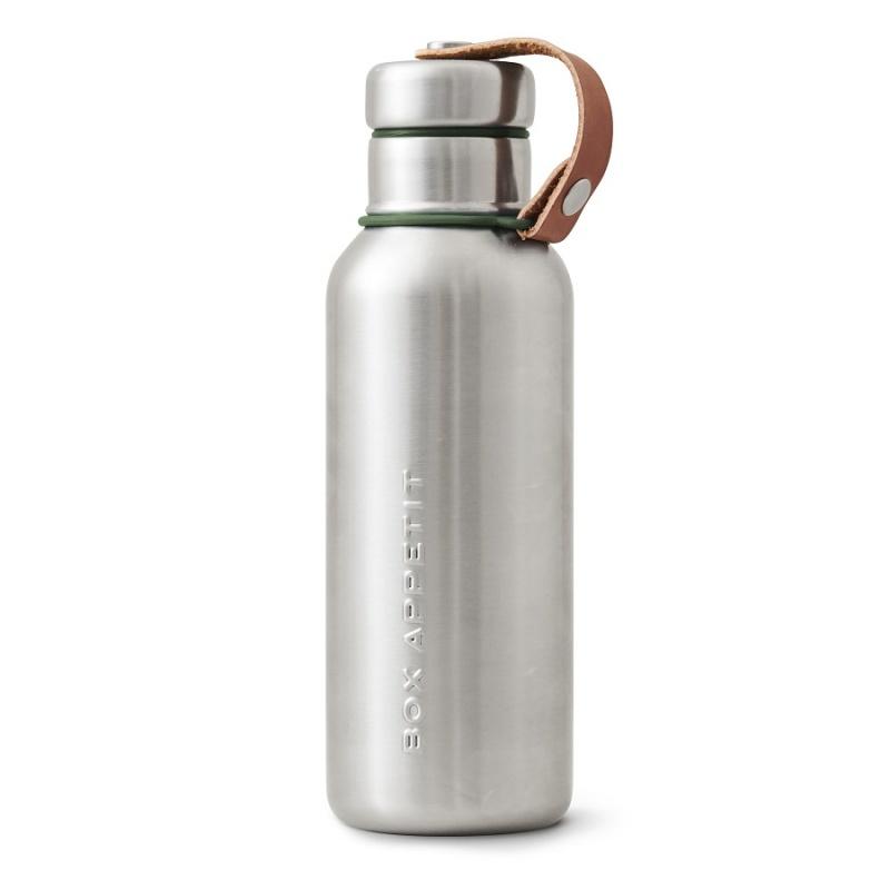 Фляга 500 мл Black+Blum Water Bottle оливковая.