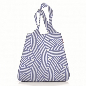 Сумка складная Reisenthel Shopper Mini maxi zebra blue