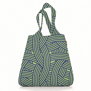 Сумка складная Reisenthel Shopper Mini maxi zebra green